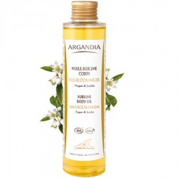 ULEI DE CORP CU ARGAN - FLOARE DE PORTOCAL 150ml